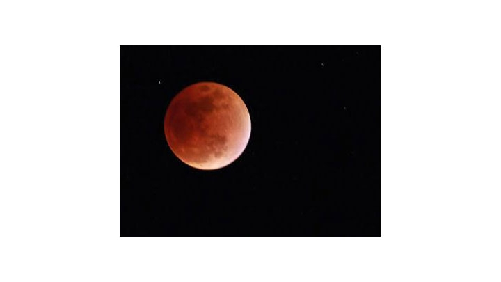 Eclipse de la Superluna en 10 fotografías