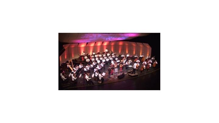 El Teatro Jorge Eliecer Gaitán fue en escenario en donde se dieron cita Velosa y los Carrangueros con la Sinfónica Nacional de Colombia para unir sus instrumentos en un solo tono.