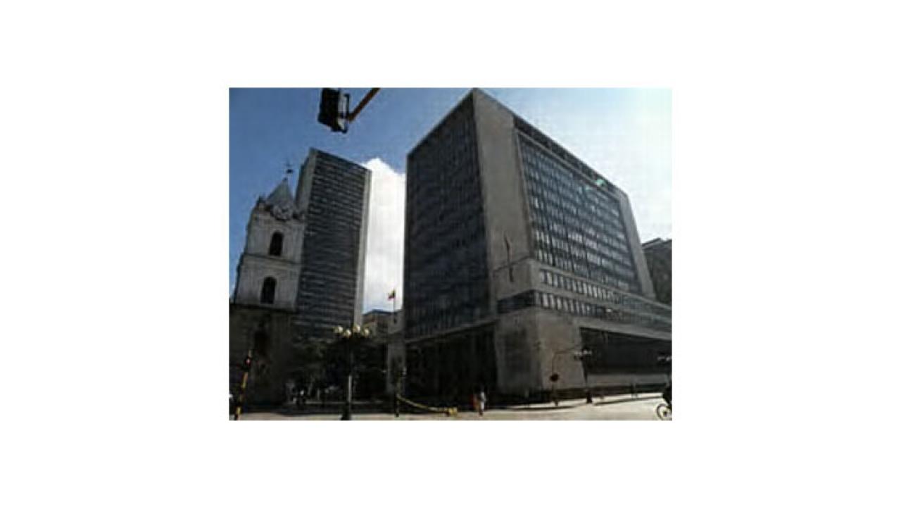 La Sede principal del Banco de la República está en problemas