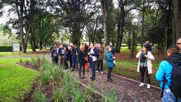 Personas recorrieron diferentes humedales y parques de la capital desde la madrugada para visualizar la mayor cantidad de aves posible.