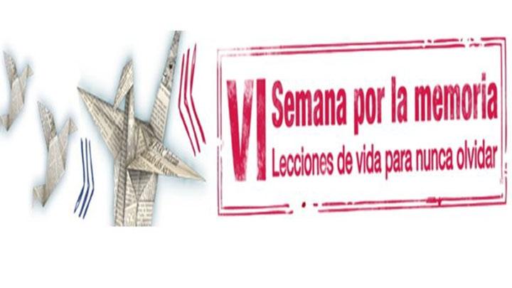 Banner Sexta semana de la memoria