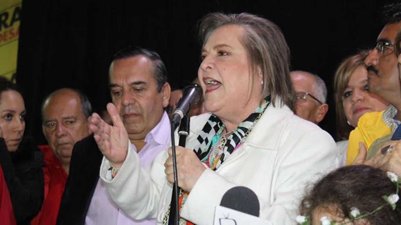 La reacción de Clara López tras perder las elecciones