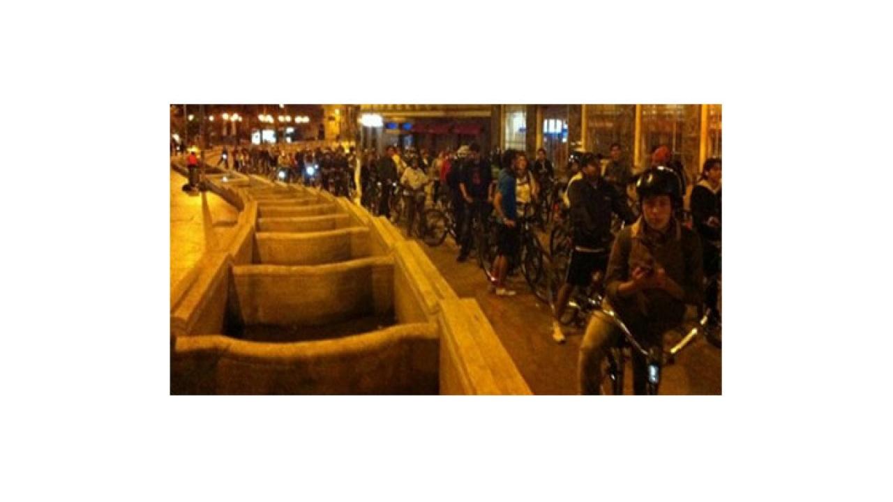 En bicicleta y sin apuros, una forma de tomarse la ciudad