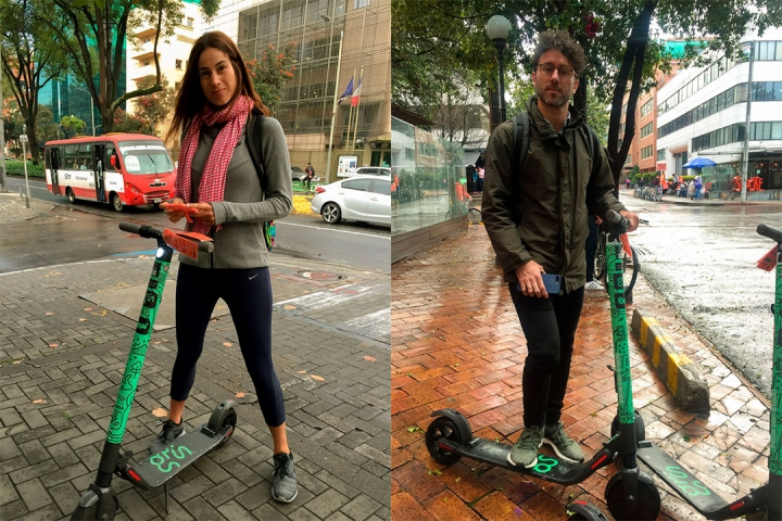 Patinetas grin scooters