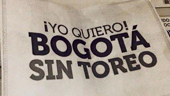 Bogotá sin toreo