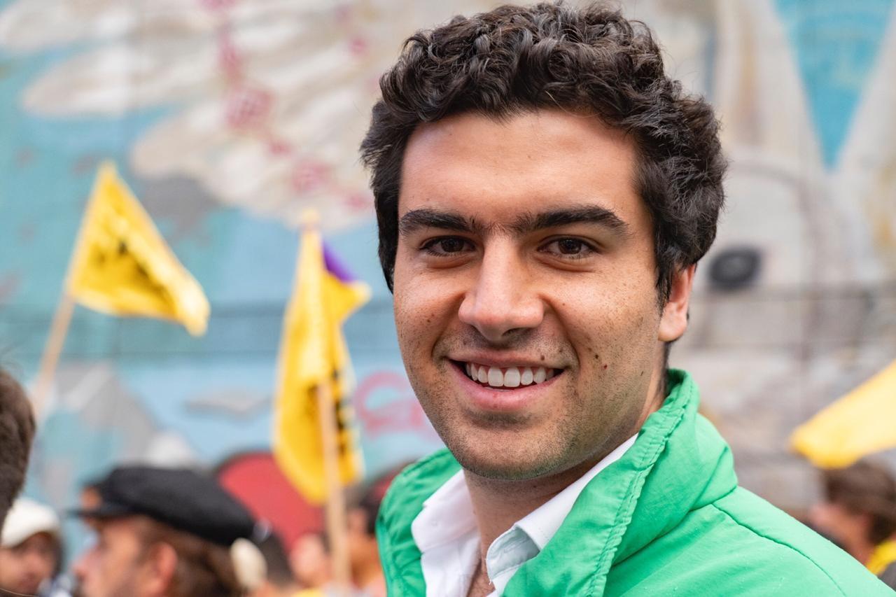 """Martín Rivera, rosarista y candidato verde: """"Lo fácil sería aprenderse 13 frases lindas de memoria, yo prefiero hacer pedagogía"""""""