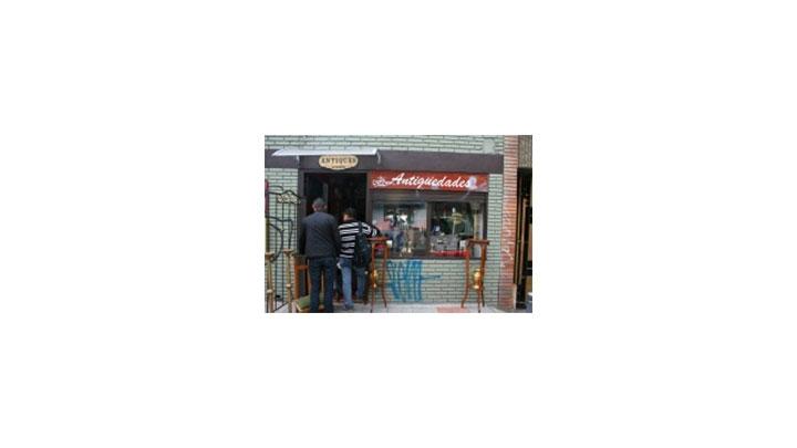 Local de la cuadra de las antigüedades de Bogotá