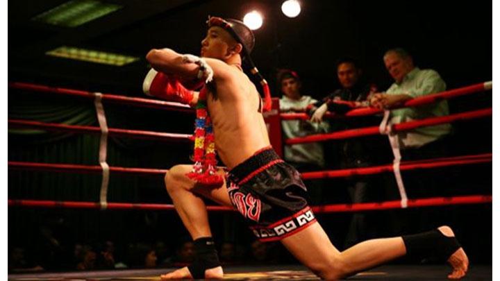 Luchador de Muay Thai