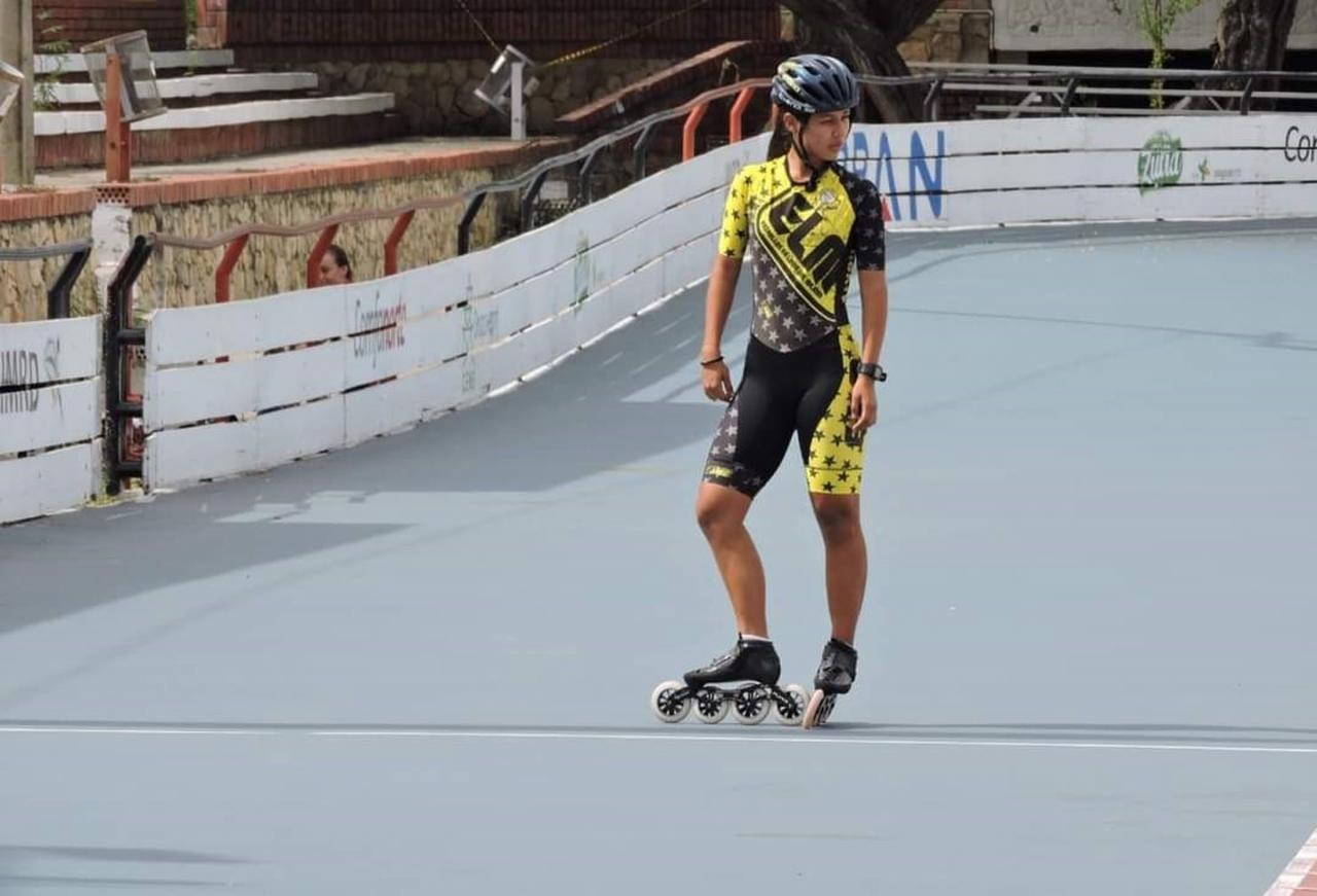 Nagge Carrero, la nueva promesa del patinaje colombiano