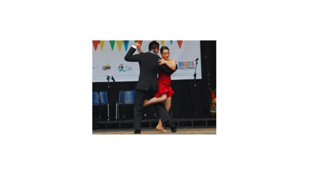 Celebración del Día Internacional de la Danza en Bogotá