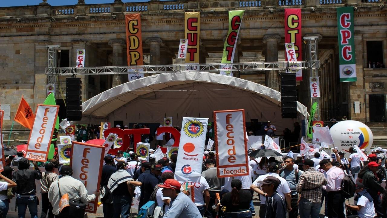 Así se vivió la marcha del Día del Trabajador