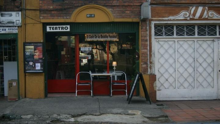 La Maldita Vanidad llegó a su sede en Palermo en el 2013