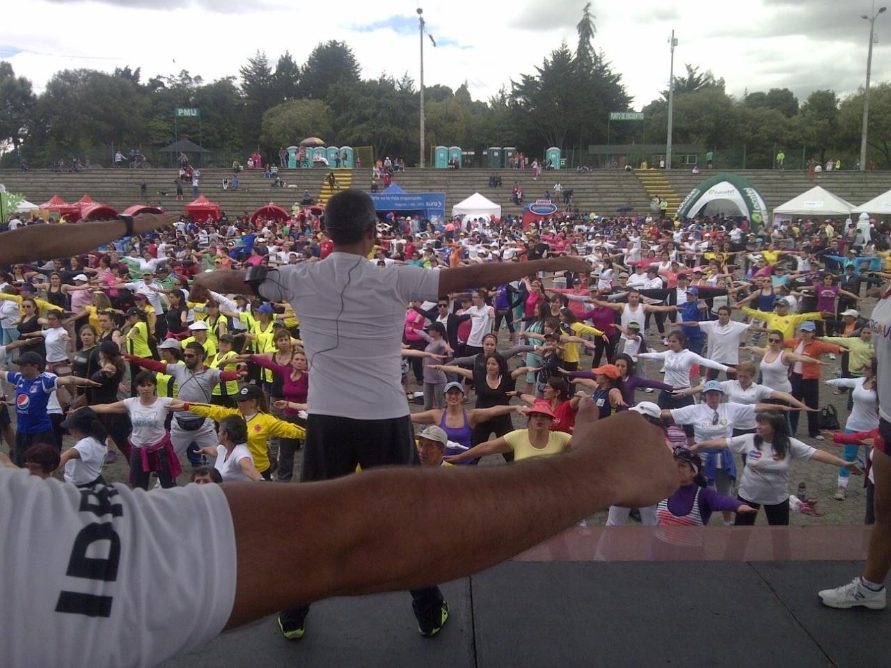 Así será la tercera edición del Bogotá Fitness Festival
