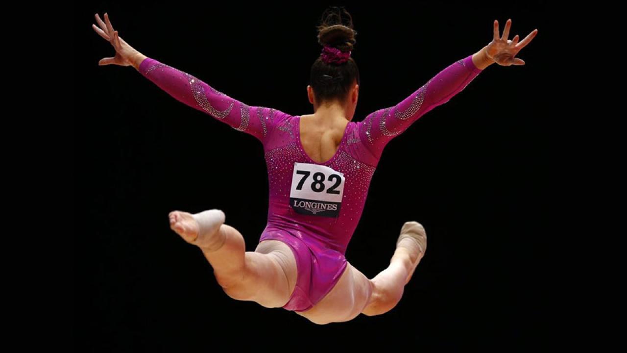 Un día como gimnasta