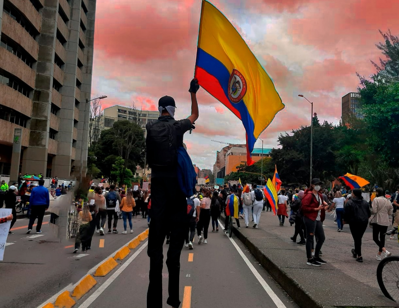 """""""Es necesario informar en tiempos precisos porque Colombia está pasando por una crisis de Derechos Humanos"""": Temblores.org"""