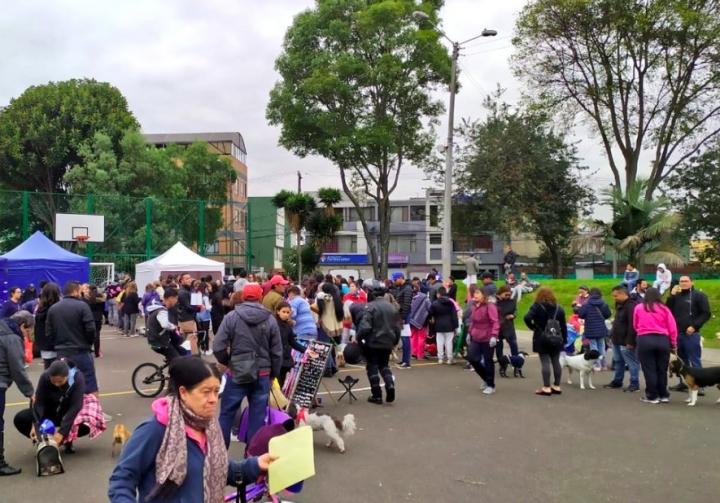 Jornada de esterilización en El Barrio Santa Cecilia de Engativá.