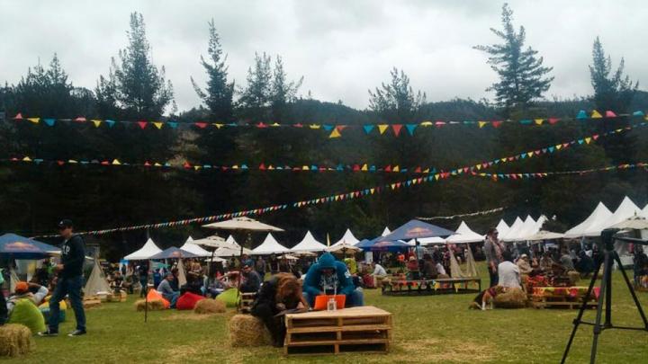 La feria Gipsy Market se llevó a cabo en el Periland Eco Park, en Cajicá.