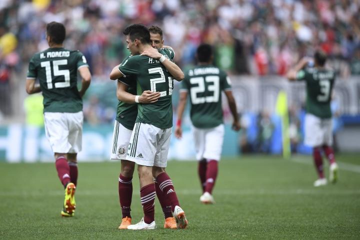 Hirving Lozano y Javier 'Chicharito' Hernández