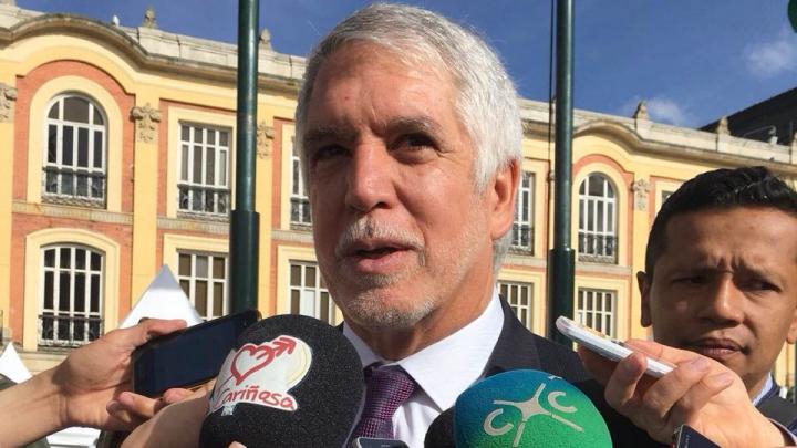 El alcalde Enrique Peñalosa. Crédito: Pilar Puentes