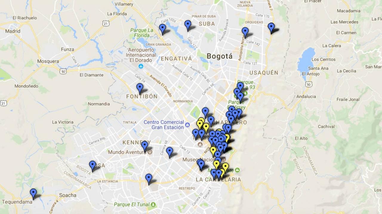 Conozca los colectivos feministas en Bogotá