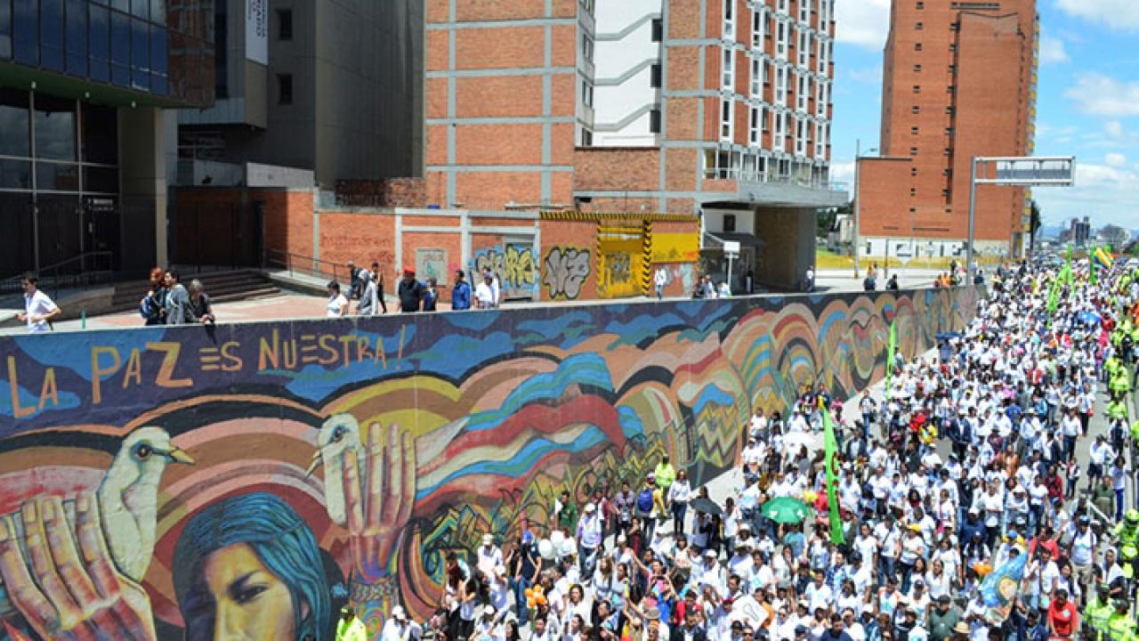 Bogotá caminó por la vida