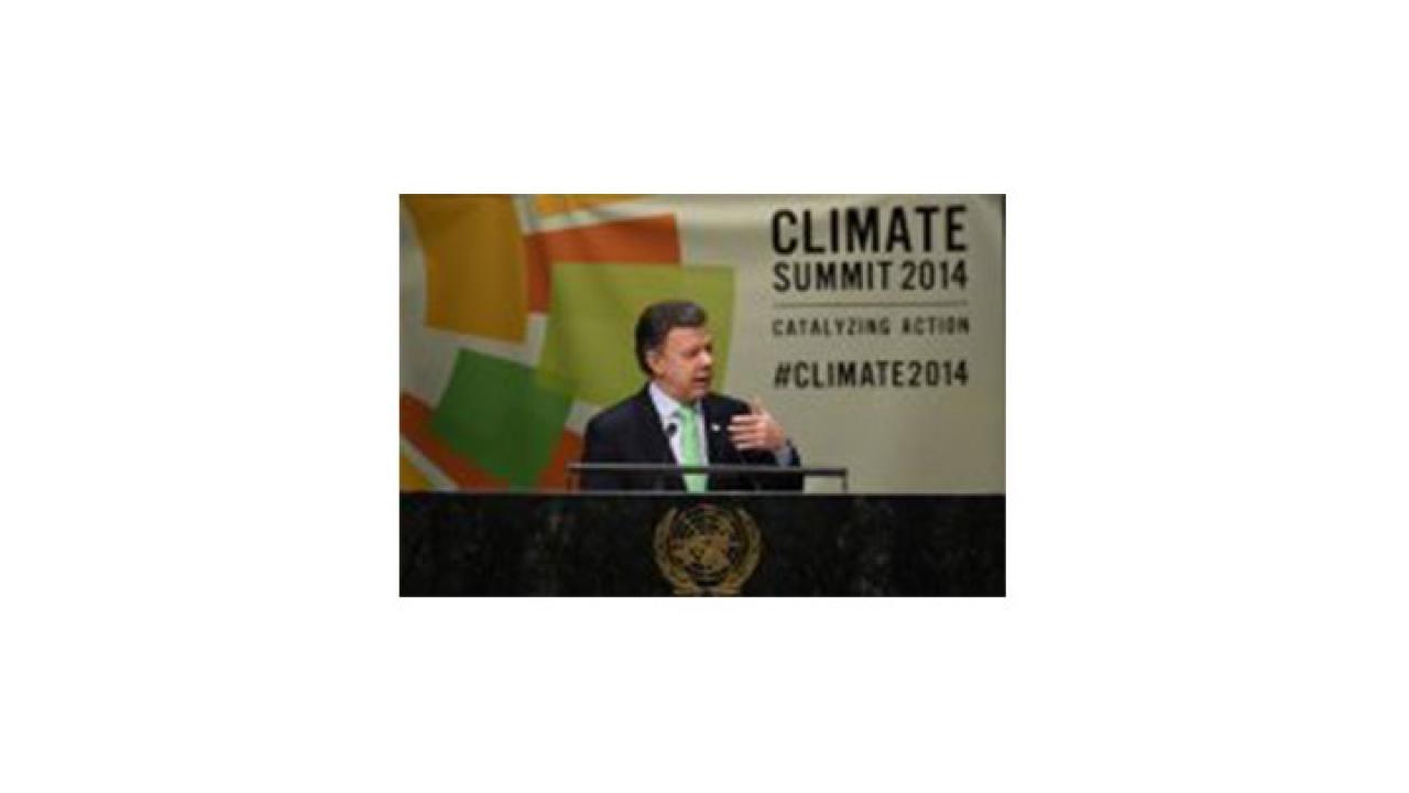 ¿Qué papel jugó Colombia en la Cumbre sobre el Cambio Climático?