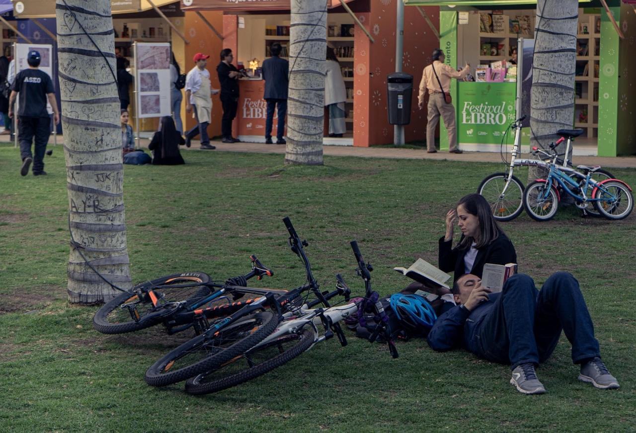 Festín literario en el Parque de la 93