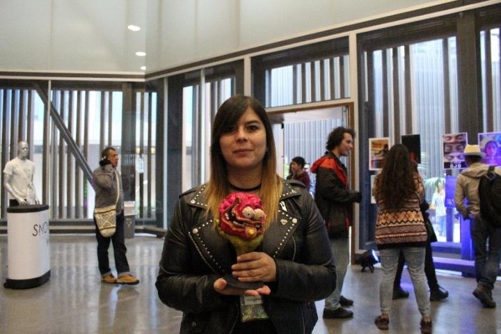 Vanesa Morris, directora del Festival de Cortos Sicoactivos
