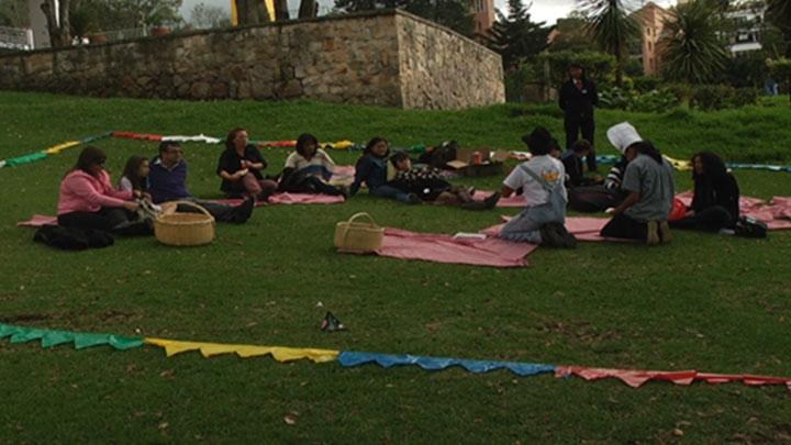 El Picnic Literario es una de las estrategias para que en Bogotá se lea más.