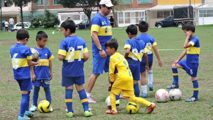 Niños y entrenadores esperan el momento de volver a las canchas con tranquilidad