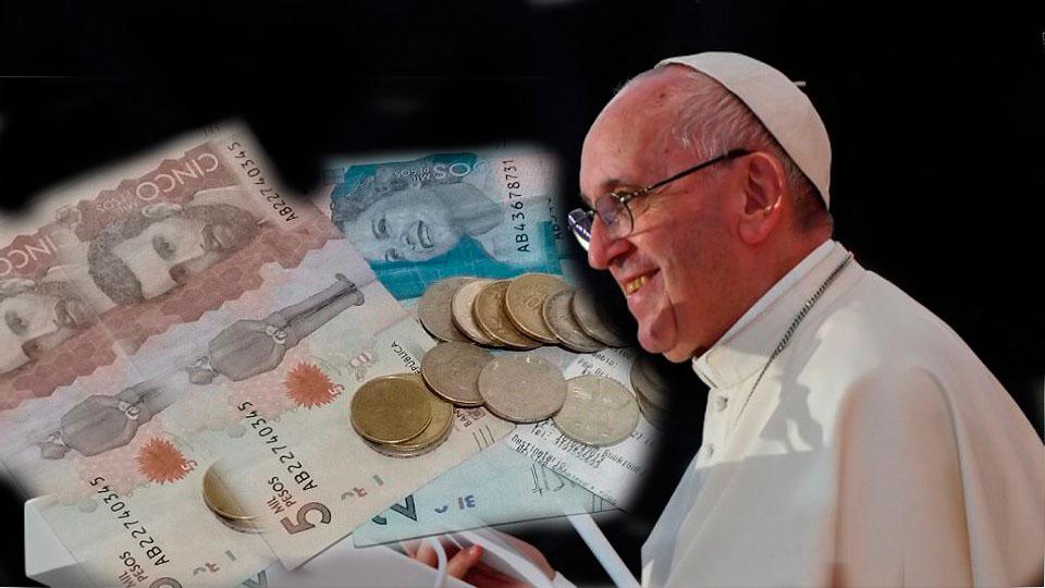 Papa Francisco_dinero