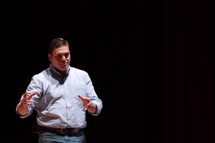 Juan Carlos Pinzón, fórmula vicepresidencial de Germán Vargas Lleras. Crédito fotos: Camila Rodríguez y Camila Carrillo