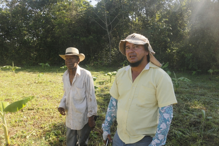 Eusebio Torres y Josué Aguirre, municipio Puerto López. Fotografía Tomada por Juan Pablo Larrota