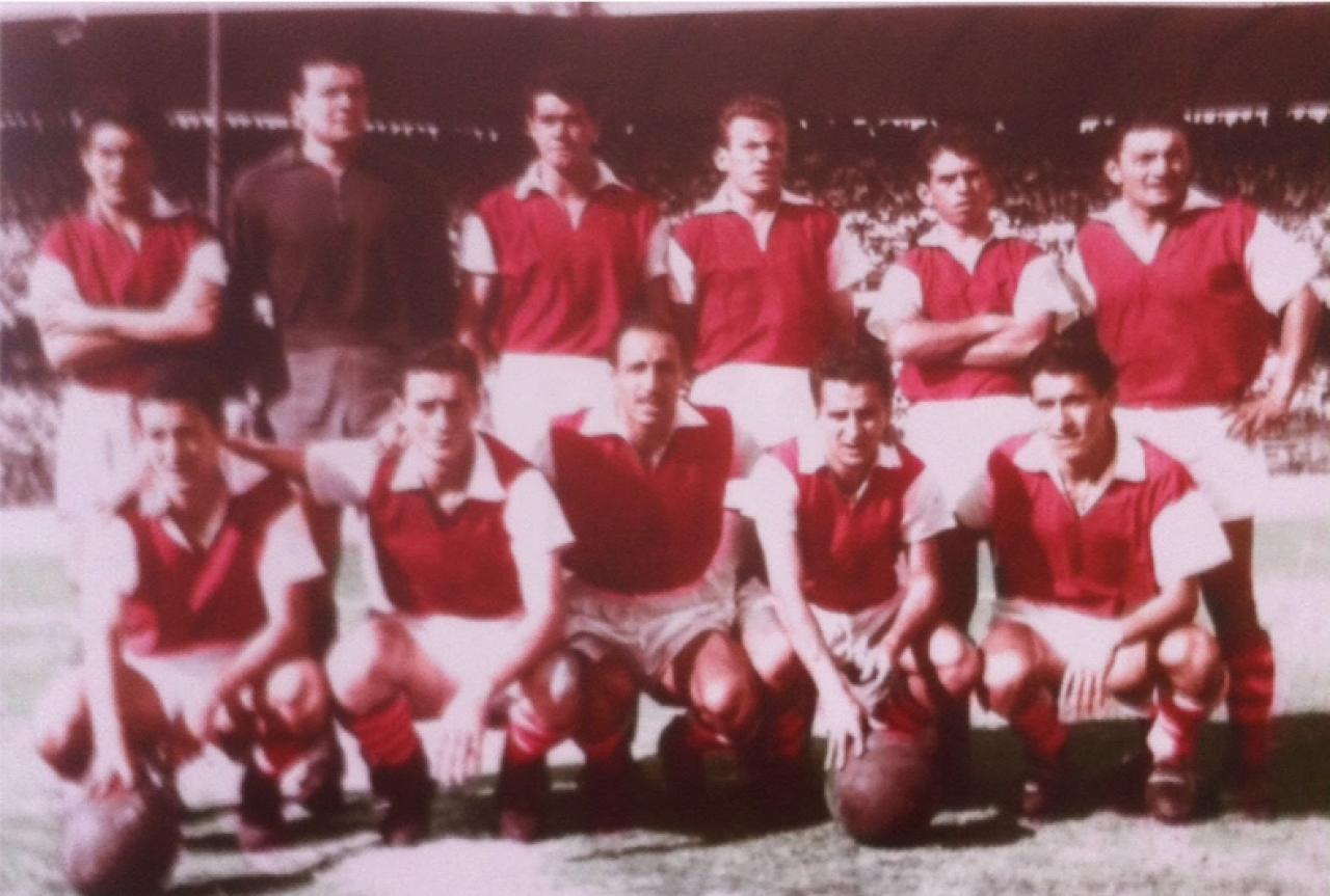 Alberto Camargo y el fútbol de los años sesentas