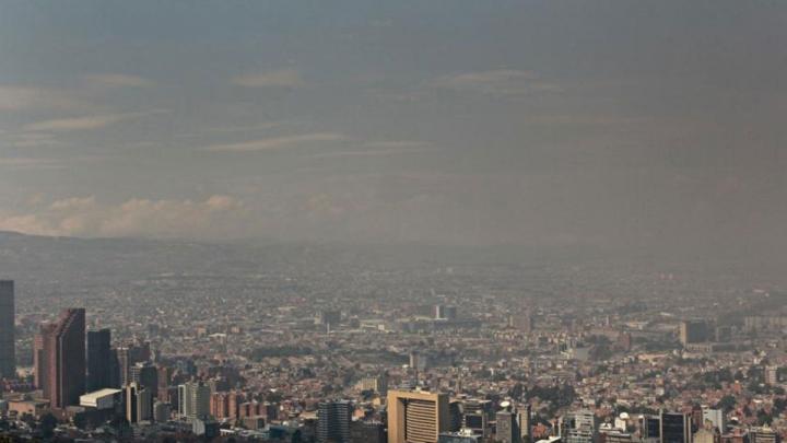 Contaminación del aire en Bogotá