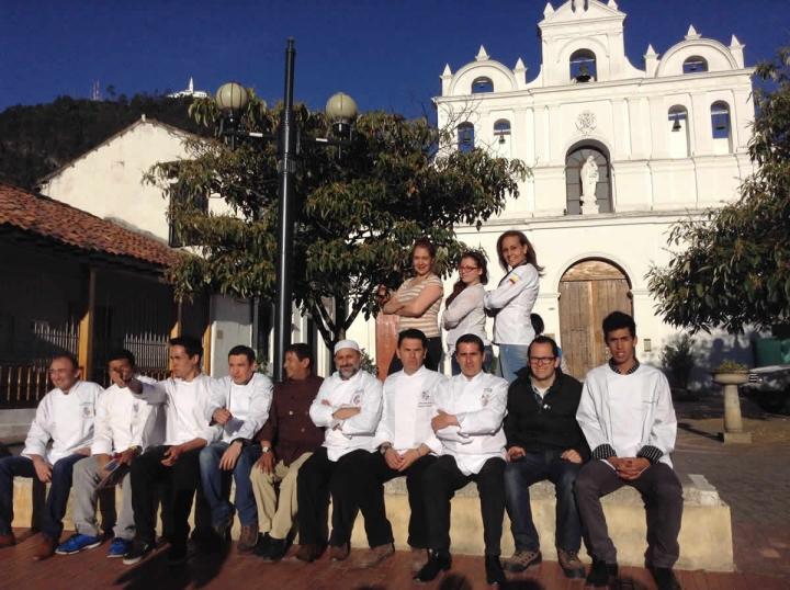 Participantes nacionales e internacionales de la tercera edición del festival gastronómico 'Sabor Candelaria'.