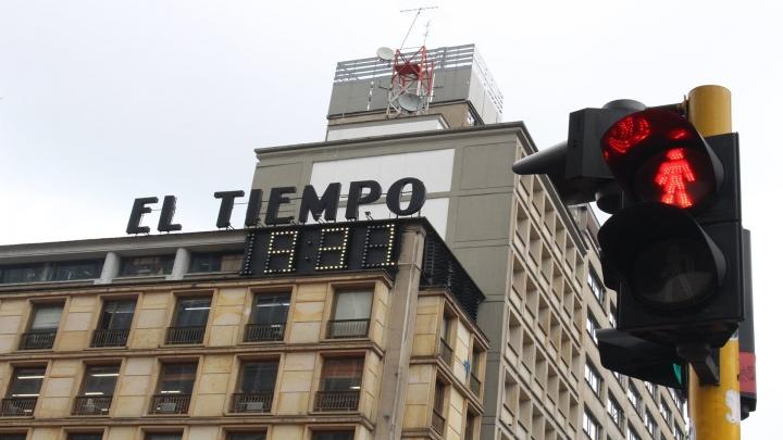 Esquina de Bogotá: Carrera Séptima con Avenida Jiménez. Foto: Camilo Espitia