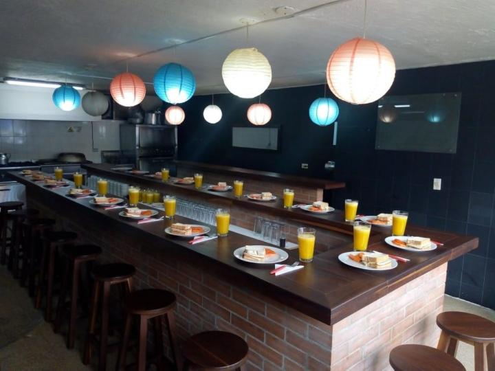 Restaurante 'Meraki' ubicado en la Zona Industrial.