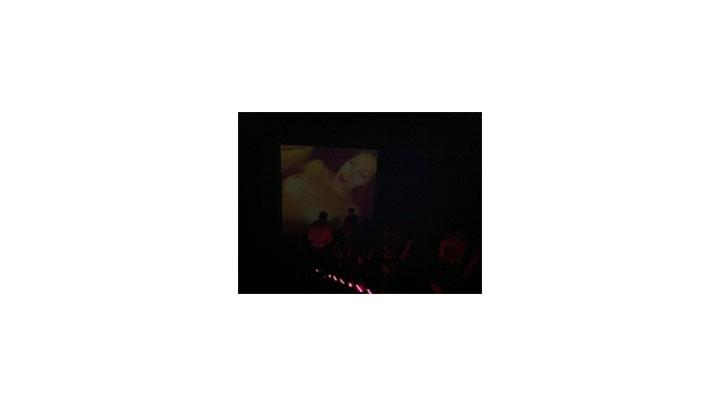 """Betty Bam. """"Se Exxxhibe"""". Cine Río, México - Ciudad de México DF. Abril 2012."""