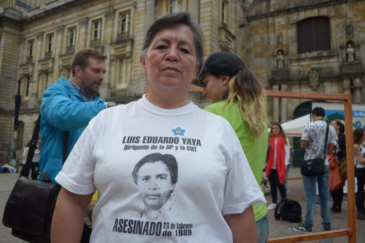 Víctima de la persecución contra miembros de la Unión Patriótica. Foto: Sergio Daza