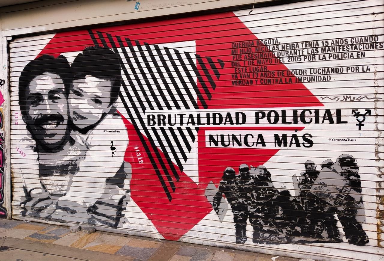 El 21S: una jornada de protestas en Colombia mayormente pacíficas