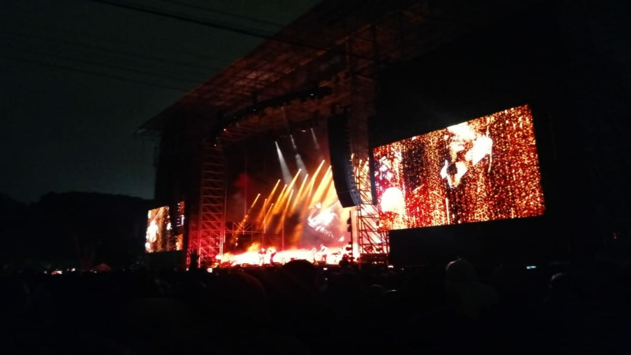 Así fue el primer concierto de Radiohead en Colombia