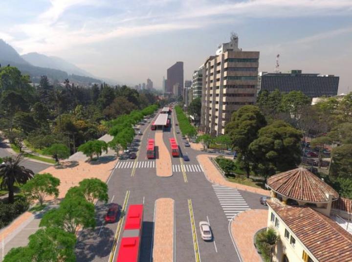 Proyecto de TransMilenio por la Carrera Séptima