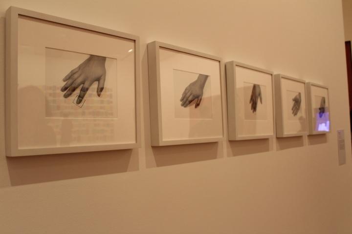 Nombre: El Cuadrado, artista: Lilian Porter. Foto por:  Luz Mariana Rojas Zawadzky