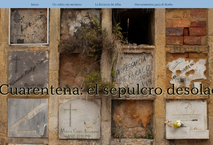 Cuarentena: el sepulcro desolado