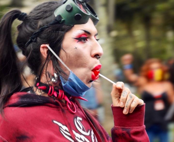 Marcha Trans en Bogotá 2020