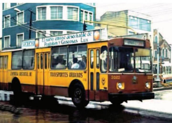 Historia del transporte público en Bogotá