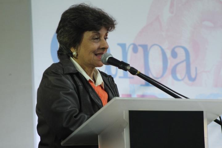 María Eugenia López, una antioqueña que se enamoró del Huila. Crédito de la foto: Silvia Bayona