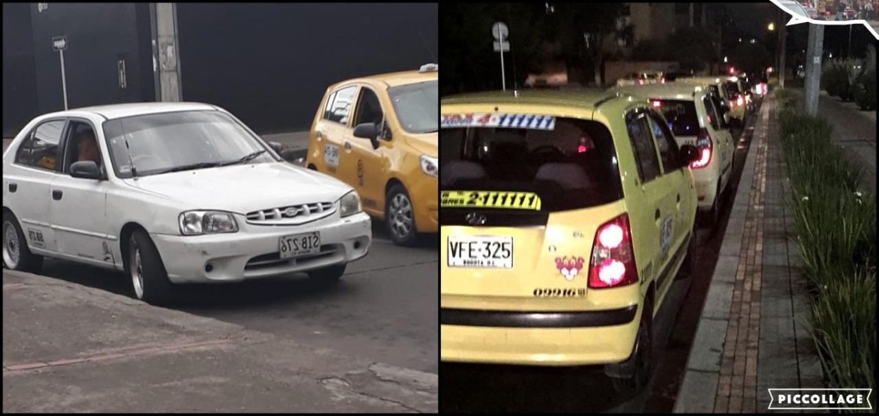 Utilidad e ilegalidad, la compleja situación de los taxis colectivos en Colina Campestre