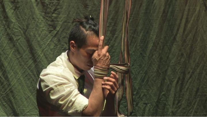 """Escena de """"Los Circuchos"""", obra de Ventana Producciones"""